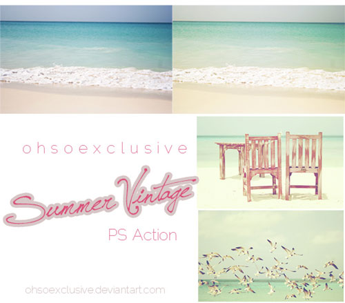 Summer Vintage PS Action por ohsoexclusive