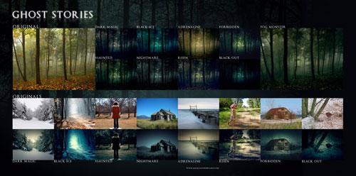 Ghost Stories Photoshop Action por elestrial