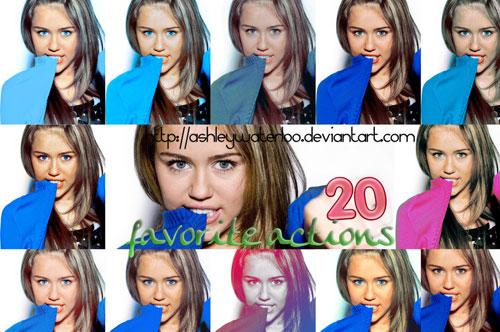 Las 20 acciones favoritas de AshleyWaterloo