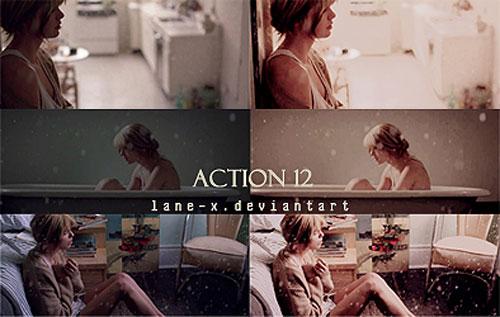Acción 12 de Lane-X