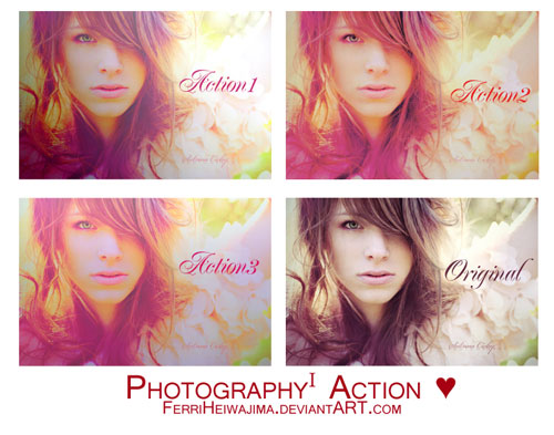 Photography Actions I by FerriHeiwajima