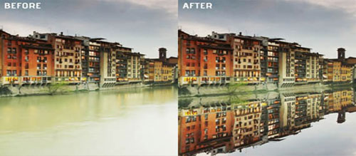 How to fake reflections in Photoshop
