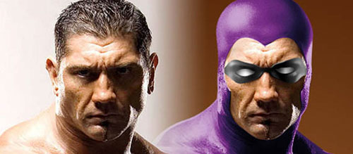 How I made up Batista as Phantom