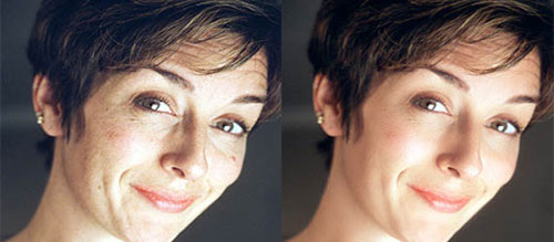 Super Fast and Easy Facial Retouching