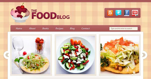Create a Food Blog Layout in Photoshop