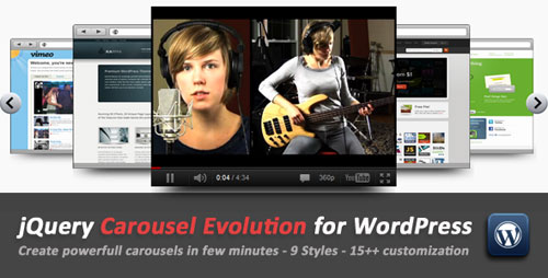 jQuery Carousel Evolution for WordPress