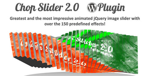 Chop Slider 2 WordPress Plugin