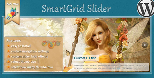 Grid Slider - Premium WordPress Plugin