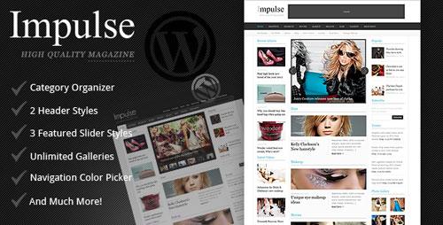 Impulse - Clean Magazine Theme