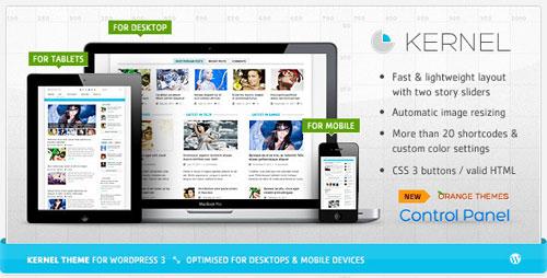 Kernel - Premium WordPress Blog & Magazine Theme
