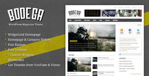 Bodega - WordPress Blog/Magazine Theme
