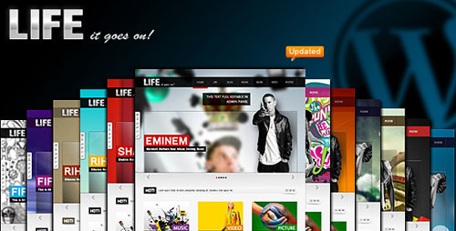Life - Multimedia Maggazine Themes WP (20 in 1)