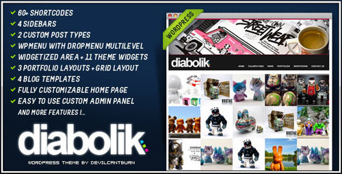Diabolik Premium WordPress Theme