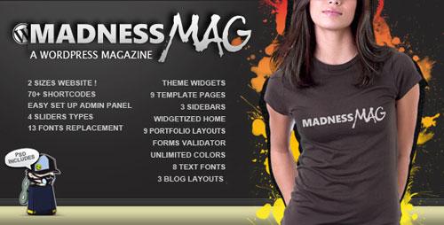 Madness Magazine WordPress