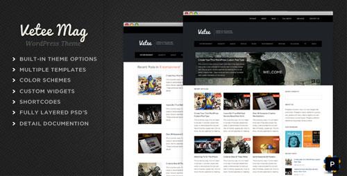 Vetee Magazine WordPress Theme