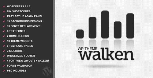 Walken - WordPress Premium Theme