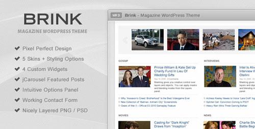 Brink - Magazine WordPress Theme