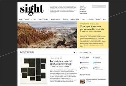 Sight 1.0.1 WordPress Theme