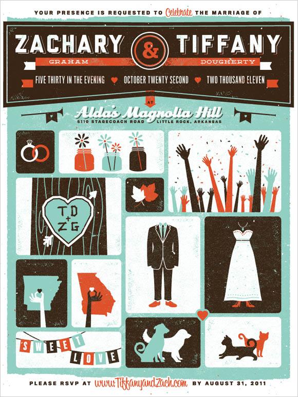 100+ Beautiful & Elegant Wedding Invitation Designs