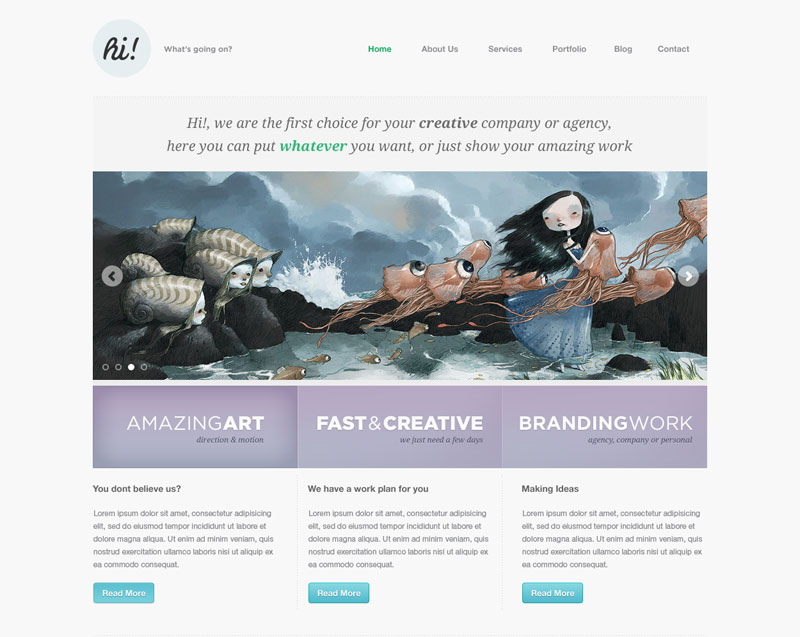 75 Portfolio WordPress Themes For Creative Professionals