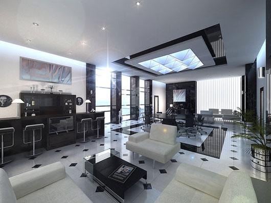 Beautiful 3d Interior Office Designs: 30 Beautiful 3D Interior Designs