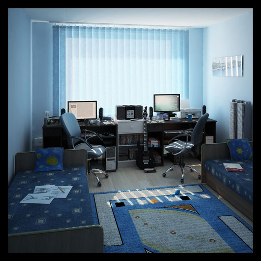 Interior 3d - My room