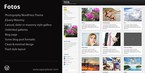 Fotos Photography & Masonry Blog WordPress Theme _21