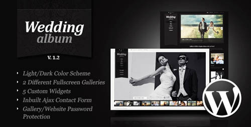 Wedding Album Premium WordPress Theme _3