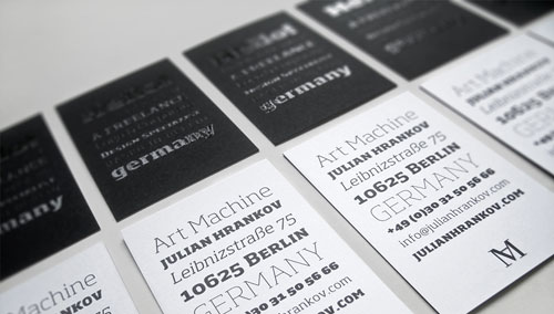 Art Machine Business Cards