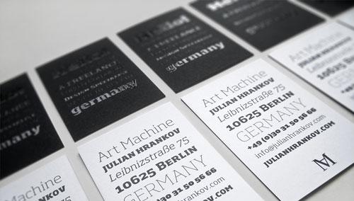 Art Machine Business Cards