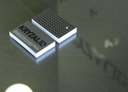 Kryzalid business cards