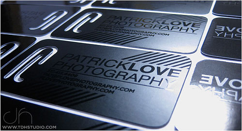 Business Card : Patrick Love Photography