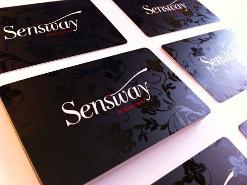 Sensway business cards