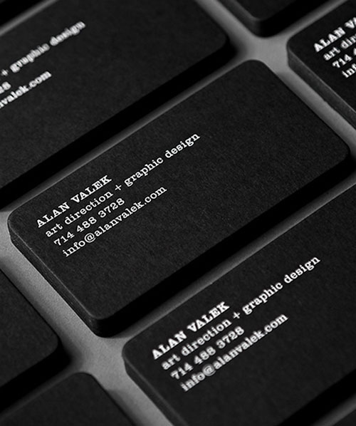 Alan Valek Business Card