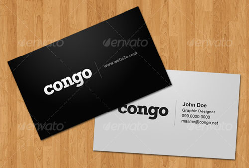 Congo – Business Card