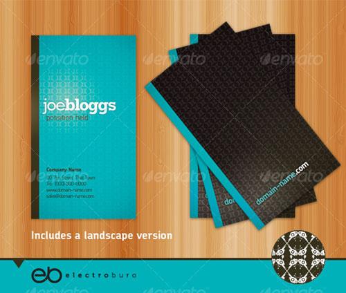 Generic Business Card - Portrait & Landscape