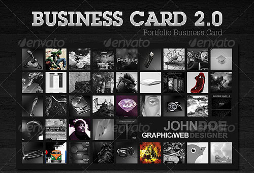 Portfolio Business Card 2.0