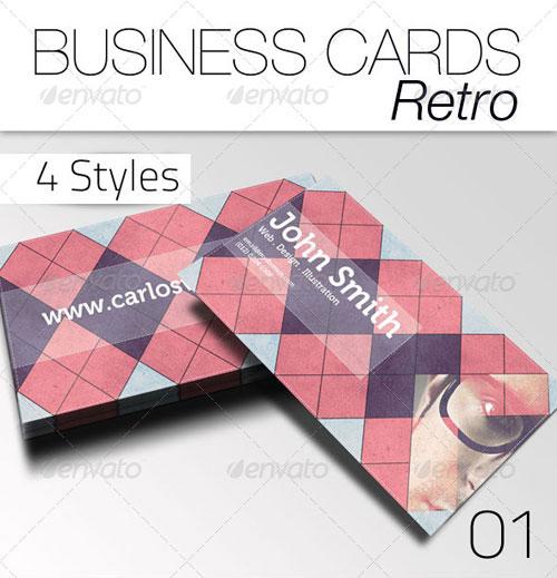 Business Card - Retro