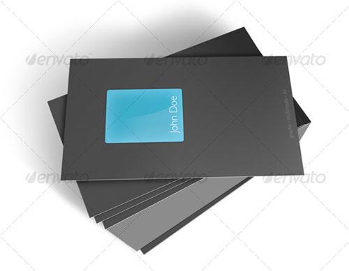 Glass Business Card