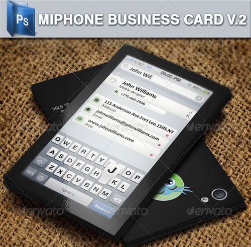 Miphone Business Card V2