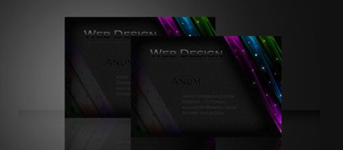 Learn how to create a sleek Business card