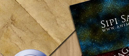 Tutorial: How to create a nebula background business card