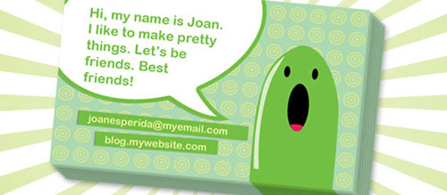 Creating a Cartoony Print-Ready Business Card in Photoshop