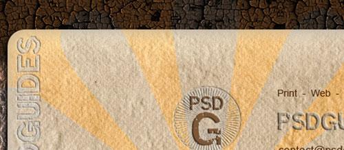 Design a Cool Grunge Business Card