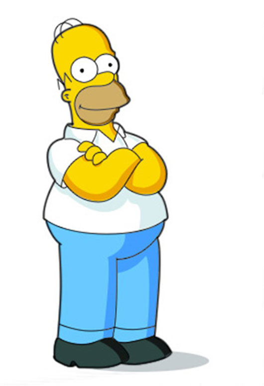 Simpsons Characters Drawings Drawing Homer Simpson