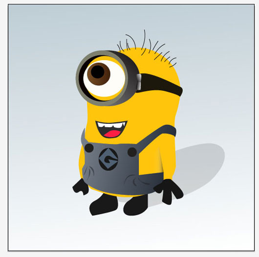 Design a Despicable Me 'Minion' in Illustrator