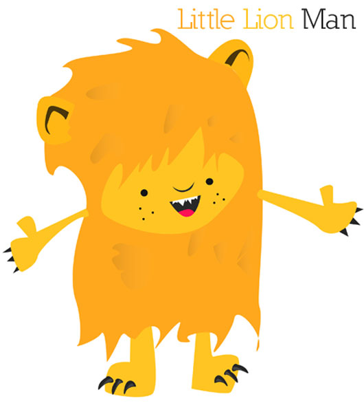 Design a Little Lion Man in Illustrator