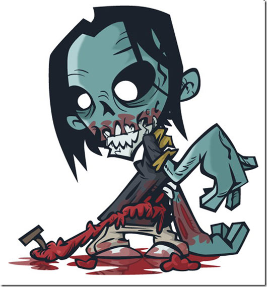 How to Create a Stinking Zombie Flesh-Eater in Illustrator