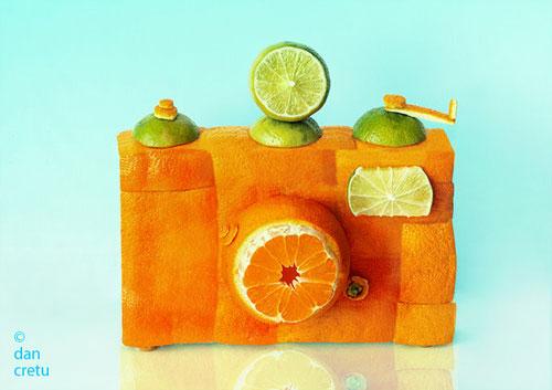 My Orange Camera