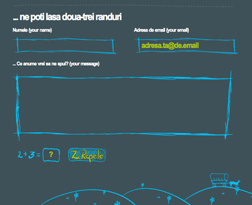 24 Stunning Contact Form-Page Designs